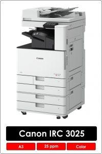 Canon IRAC 3025